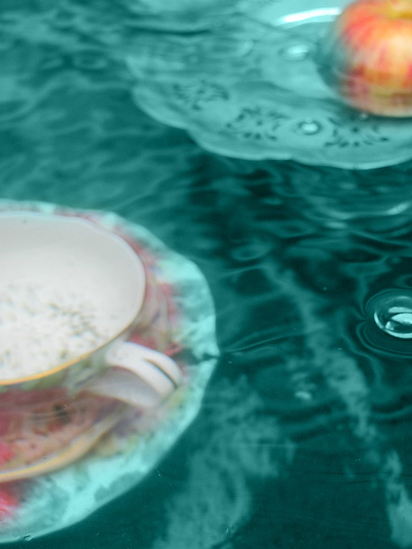 tea with water