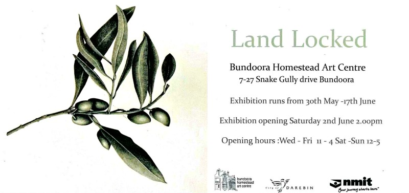 Land Locked Exhibition at Bundoora Homestead Art Centre