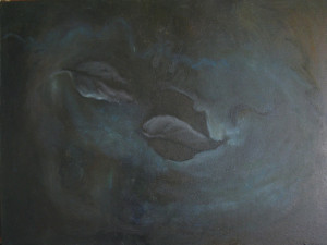 July twelve...night (oil on canvas) 2010