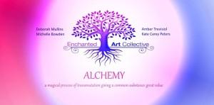 ALCHEMY banner  design by michelle bowden